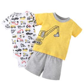 Комплект для мальчика 3 в 1 Экскаватор (код товара: 46104): купить в Berni