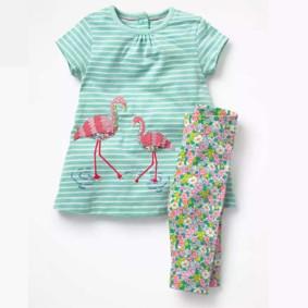 Костюм 2 в 1 для девочки Фламинго (код товара: 46184): купить в Berni