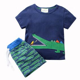 Костюм 2 в 1 для мальчика Крокодил (код товара: 46191): купить в Berni