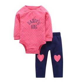 Костюм для девочки 2 в 1 Daddy's Girl (код товара: 46101): купить в Berni