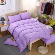 Комплект постельного белья Сиреневый (двуспальный-евро) (код товара: 46276)