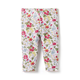 Леггинсы для девочки Ягоды в цветах (код товара: 46208): купить в Berni