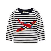 Лонгслів для хлопчика Червоний літак оптом (код товара: 46264)
