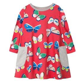 Платье для девочки Бабочки (код товара: 46290): купить в Berni