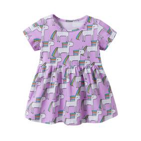 Платье для девочки Единороги (код товара: 46217): купить в Berni