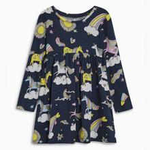 Платье для девочки Единороги (код товара: 46291)