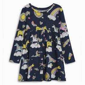 Платье для девочки Единороги (код товара: 46291): купить в Berni