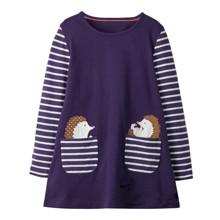 Платье для девочки Ежики (код товара: 46294)