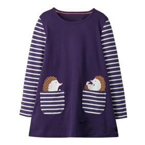 Платье для девочки Ежики (код товара: 46294): купить в Berni