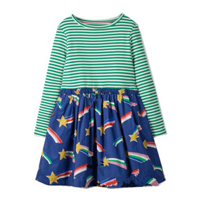 Платье для девочки Падающая звезда (код товара: 46293): купить в Berni