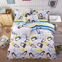 Уценка (дефекты)! Комплект постельного белья Абстракция (полуторный) (код товара: 46243)
