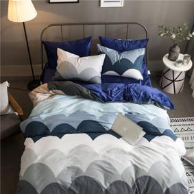 Уценка (дефекты)! Комплект постельного белья Круглые горы (полуторный) (код товара: 46236): купить в Berni