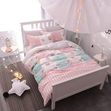 Уценка (дефекты)! Комплект постельного белья Сладости (двуспальный-евро) (код товара: 46254)