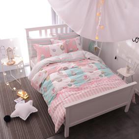 Уценка (дефекты)! Комплект постельного белья Сладости (двуспальный-евро) (код товара: 46254): купить в Berni