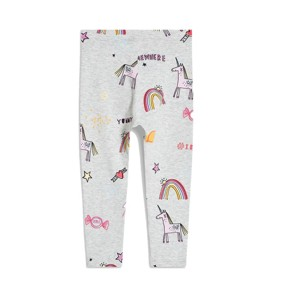 Леггинсы для девочки Единорог и радуга (код товара: 46314): купить в Berni