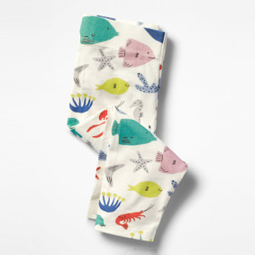 Леггинсы для девочки Морские животные (код товара: 46326): купить в Berni