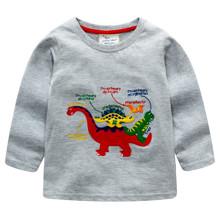 Лонгслів для хлопчика Балакучі динозаври оптом (код товара: 46333)