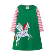 Платье для девочки Единорог (код товара: 46305)