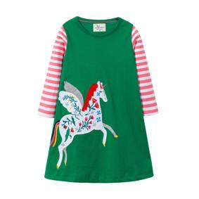 Платье для девочки Единорог (код товара: 46305): купить в Berni