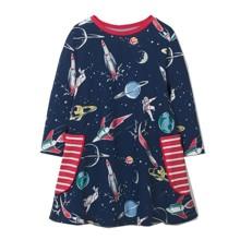 Платье для девочки Космос (код товара: 46307)
