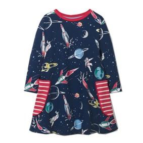 Платье для девочки Космос (код товара: 46307): купить в Berni