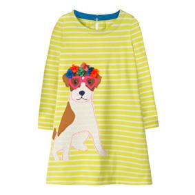 Платье для девочки Милый пес (код товара: 46308): купить в Berni