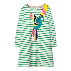 Платье для девочки Попугай (код товара: 46309): купить в Berni