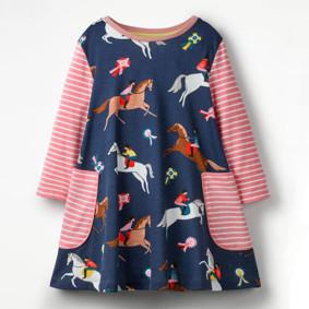 Платье для девочки Скачки (код товара: 46310): купить в Berni