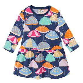 Платье для девочки Зонты (код товара: 46304): купить в Berni