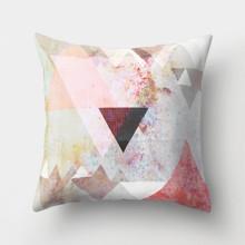 Подушка декоративна Трикутники 45 х 45 см оптом (код товара: 46363)