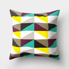 Подушка декоративна Трикутники 45 х 45 см оптом (код товара: 46378)