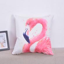 Подушка декоративна Великий Фламінго 45 х 45 см (код товара: 46371)