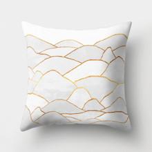 Подушка декоративна Золоті пагорби 45 х 45 см оптом (код товара: 46356)