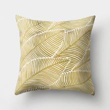 Подушка декоративна Золотий лист 45 х 45 см оптом (код товара: 46368)