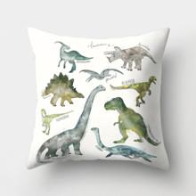 Подушка декоративная Древние динозавры 45 х 45 см оптом (код товара: 46394)