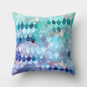 Подушка декоративная Фиолетовая чешуя 45 х 45 см (код товара: 46386): купить в Berni
