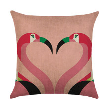 Подушка декоративная Фламинго 45 х 45 см (код товара: 46395)