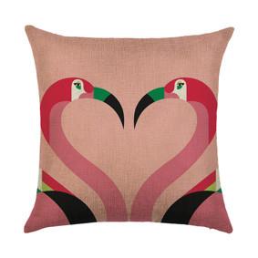 Подушка декоративная Фламинго 45 х 45 см (код товара: 46395): купить в Berni