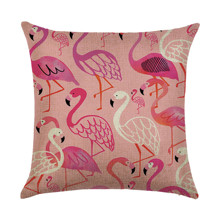 Подушка декоративная Фламинго 45 х 45 см оптом (код товара: 46396)