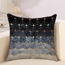 Подушка декоративная Геометрическая абстракция 45 х 45 см оптом (код товара: 46347)