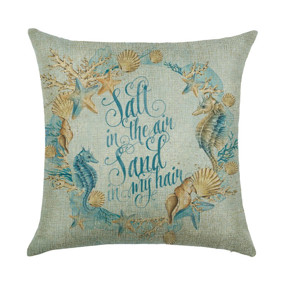 Подушка декоративная Море в моем сердце 45 х 45 см (код товара: 46392): купить в Berni