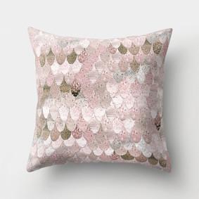 Подушка декоративная Розовая чешуя 45 х 45 см (код товара: 46385): купить в Berni