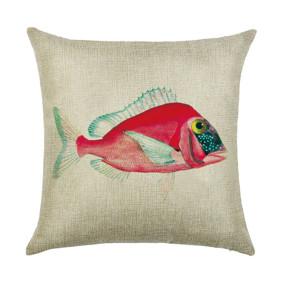 Подушка декоративная Розовая рыбка 45 х 45 см (код товара: 46391): купить в Berni