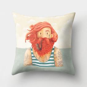Подушка декоративная Рыжий моряк 45 х 45 см (код товара: 46375): купить в Berni