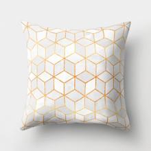 Подушка декоративная Серые кубы 45 х 45 см оптом (код товара: 46355)