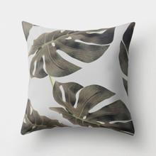 Подушка декоративная Темная монстера 45 х 45 см оптом (код товара: 46344)