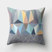 Подушка декоративная Треугольная абстракция 45 х 45 см оптом (код товара: 46373)