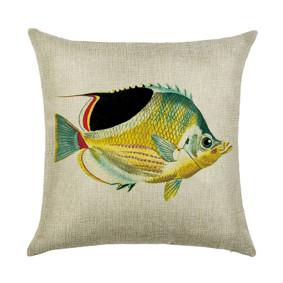 Подушка декоративная Желтая рыбка 45 х 45 см (код товара: 46390): купить в Berni
