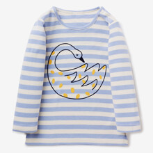 Лонгслив для девочки Лебедь оптом (код товара: 46441)