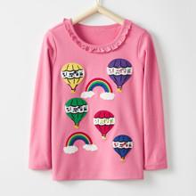 Лонгслив для девочки Воздушные шары оптом (код товара: 46482)